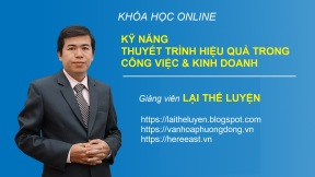 KY NANG THUYET TRINH - LAI THE LUYEN