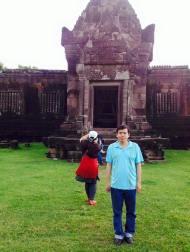 Đền Wat Phou - Lào 2017
