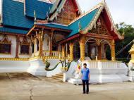 Chùa trên núi - Champasak - Lào - 2017